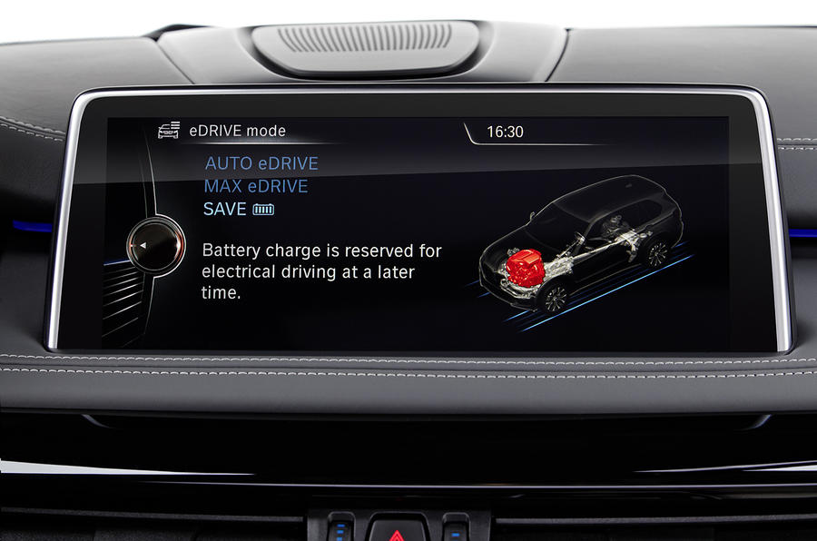 BMW X5 iDrive infotainment