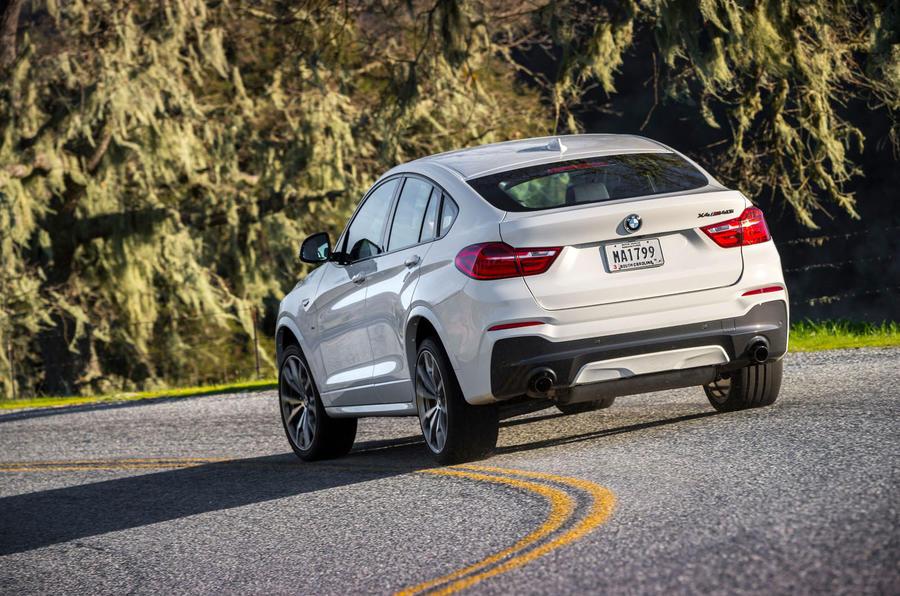 BMW X4 M40i rear