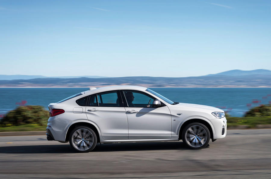 2016 bmw x4 m40i review review autocar. Black Bedroom Furniture Sets. Home Design Ideas