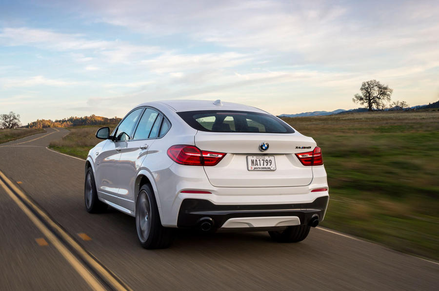 BMW X4 M40i rear quarter