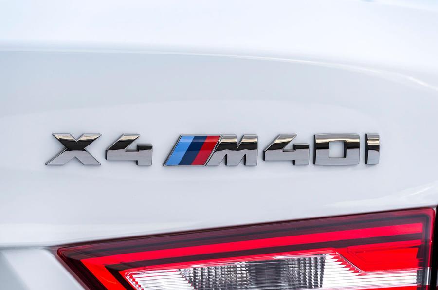 BMW X4 M40i badging