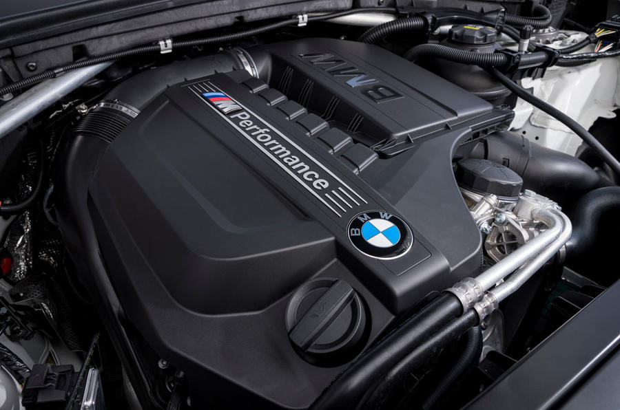 3.0-litre BMW X4 M40i engine