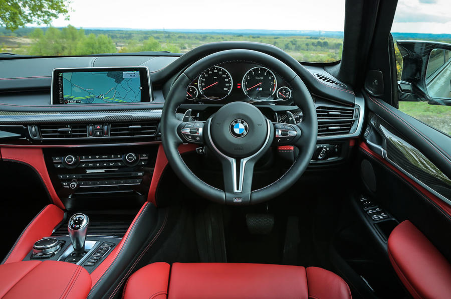 BMW X5 M dashboard