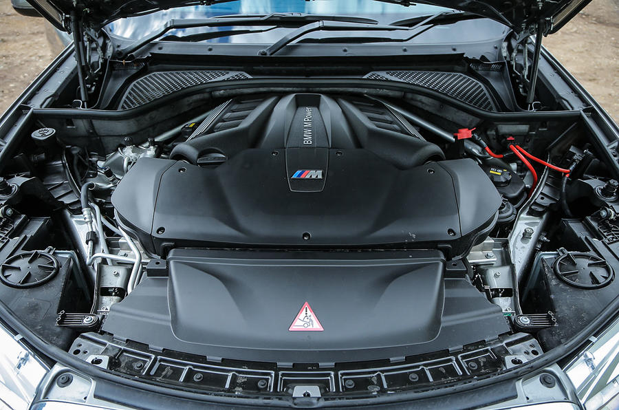 4.4-litre V8 BMW X5 M engine