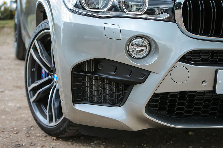 BMW X5 M sports front spoiler