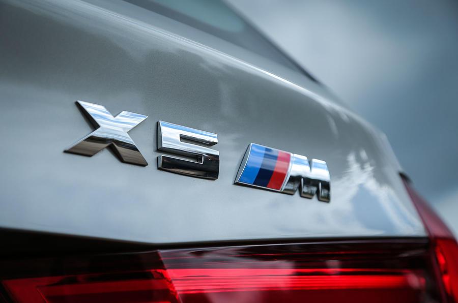 BMW X5 M badging