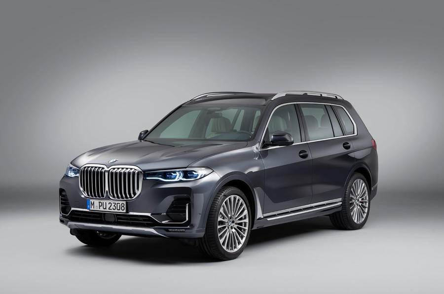 BMW X7 revealed: seven-seat SUV takes on Range Rover