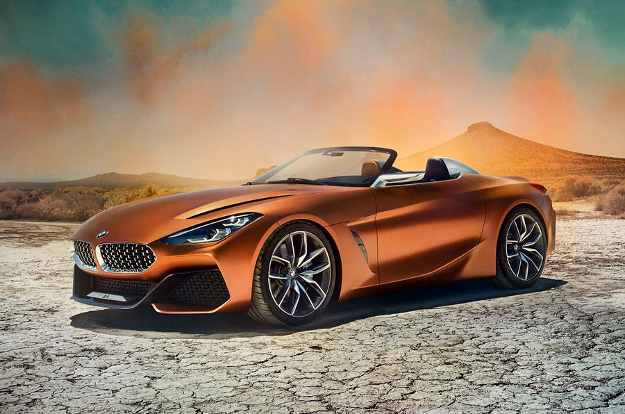 Bmw Concept Z4 Shows Bold Design Direction Of Upcoming