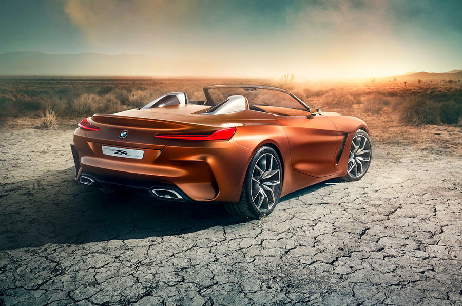2018 bmw z4 concept shows direction of new roadster autocar. Black Bedroom Furniture Sets. Home Design Ideas