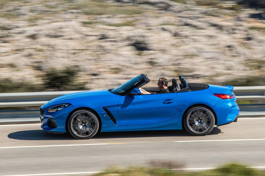 BMW Z4 sDrive20i 2019 first drive review - hero side