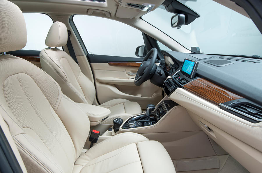 BMW 216d Active Tourer interior
