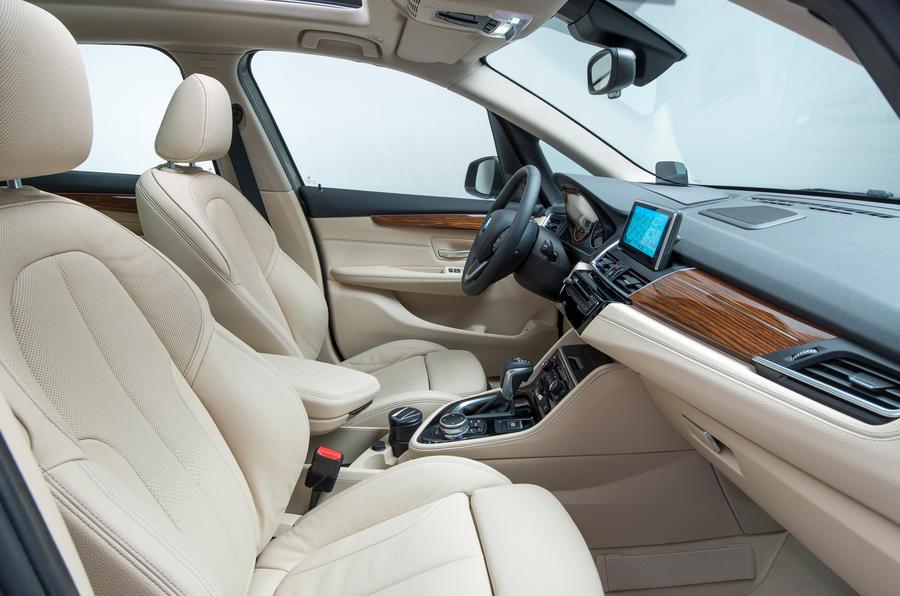 BMW 216d Active Tourer interior