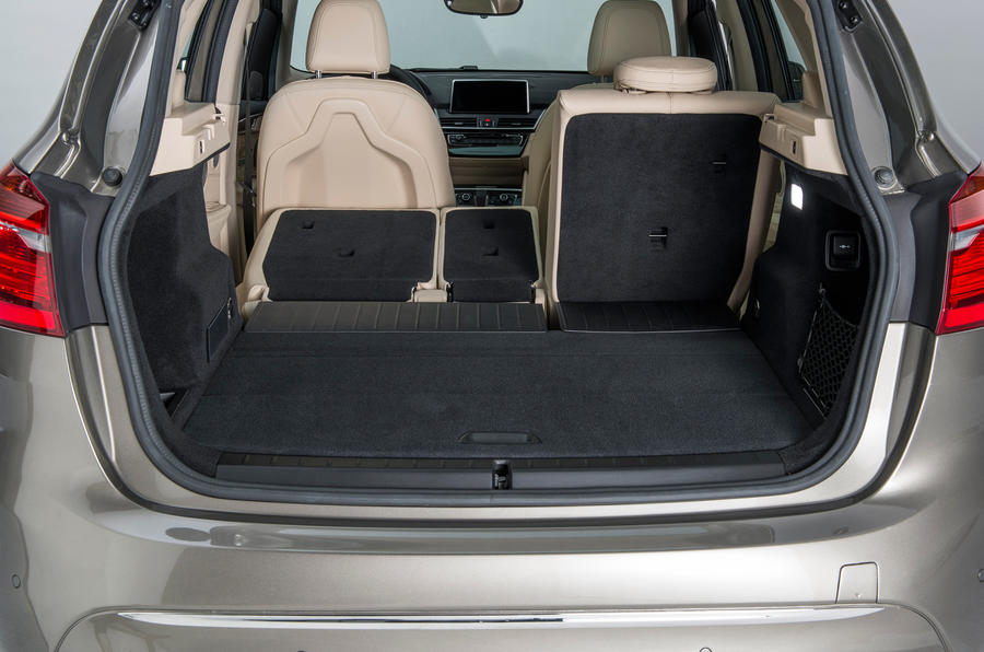 BMW 216d Active Tourer boot space