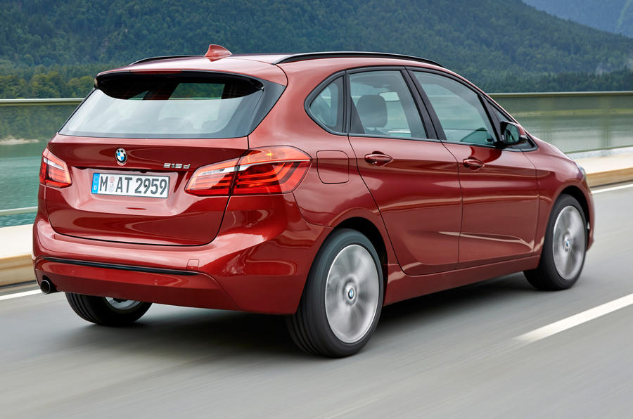 BMW 216d Active Tourer rear