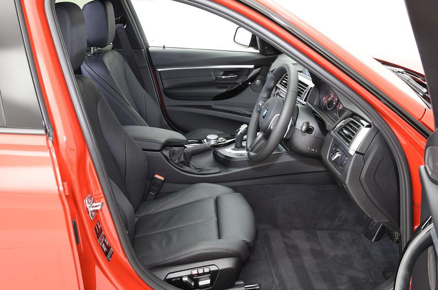 BMW 320d M Sport interior
