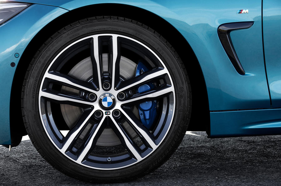 BMW 440i Coupé alloy wheels