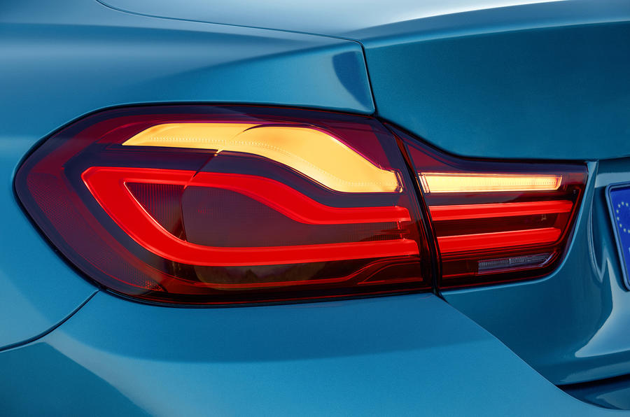 BMW 440i Coupé rear lights