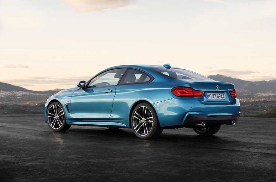 BMW 440i Coupé rear quarter