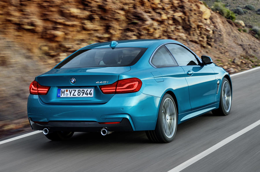 BMW 440i Coupé rear quarter