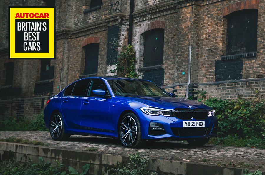 Britain's Best Car Awards 2020 - BMW 330e