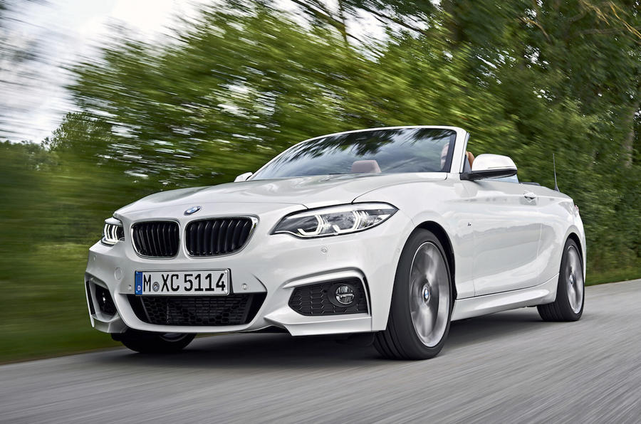 Bmw 2 series 220d convertible m sport 2017 review review autocar - Bmw 2 series coupe white ...