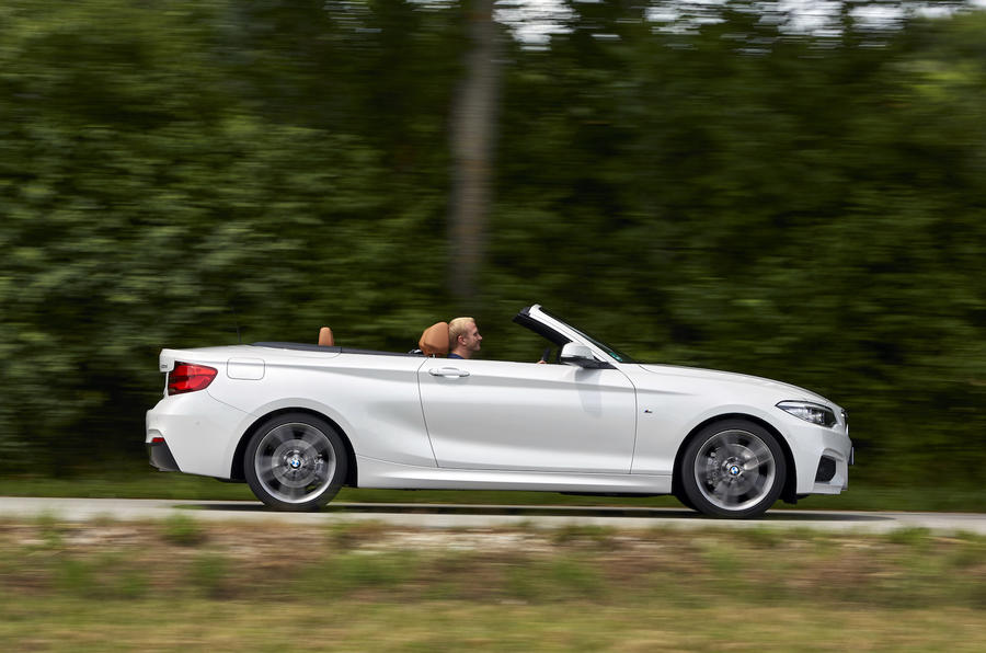 bmw 2 series 220d convertible m sport 2017 review review. Black Bedroom Furniture Sets. Home Design Ideas