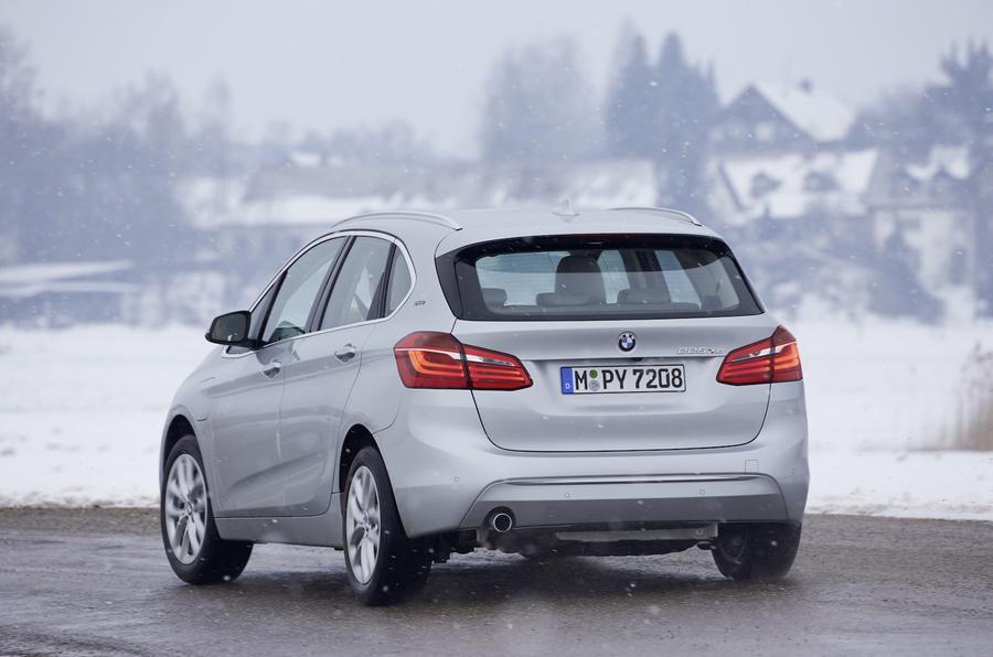 BMW 225xe Active Tourer rear