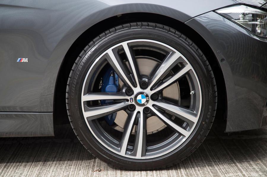 2017 BMW 330e - wheel