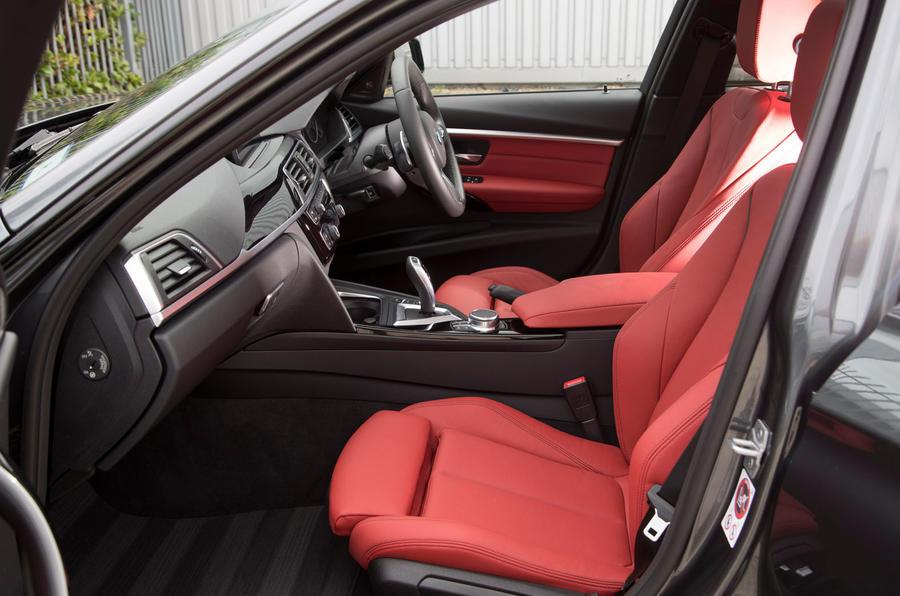 2017 BMW 330e - interior