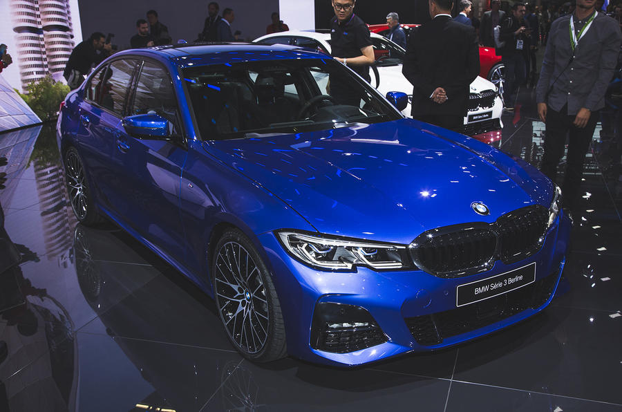 BMW 3 Series global debut Paris 2018 Luc
