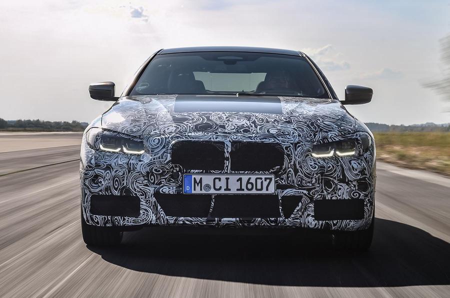 2020 BMW 4 Series prototype - front