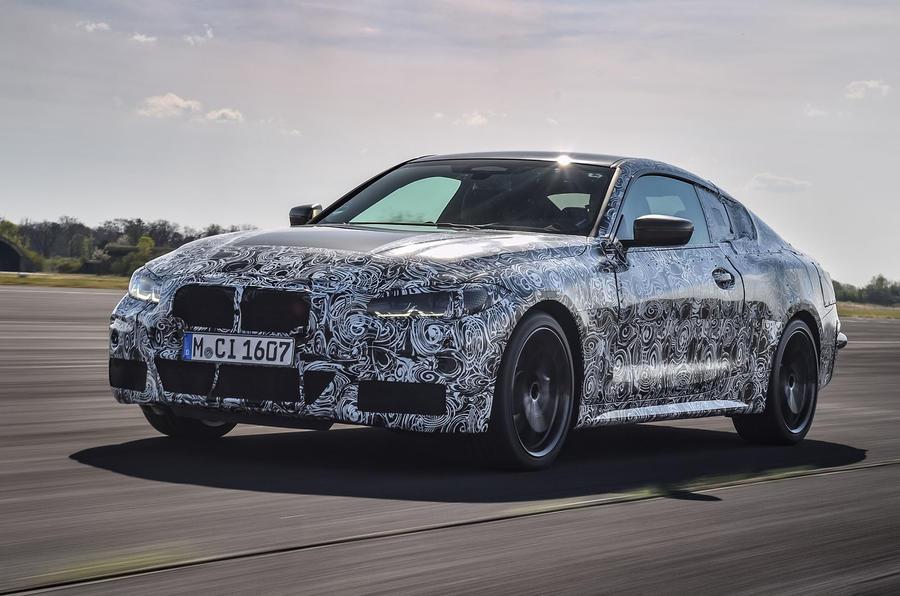 2020 BMW 4 Series prototype - hero front