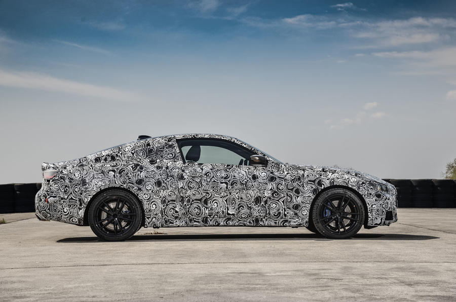 2020 BMW 4 Series prototype - static side