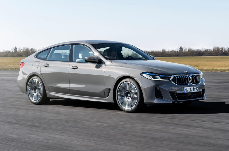 BMW 6 Series GT facelift - front