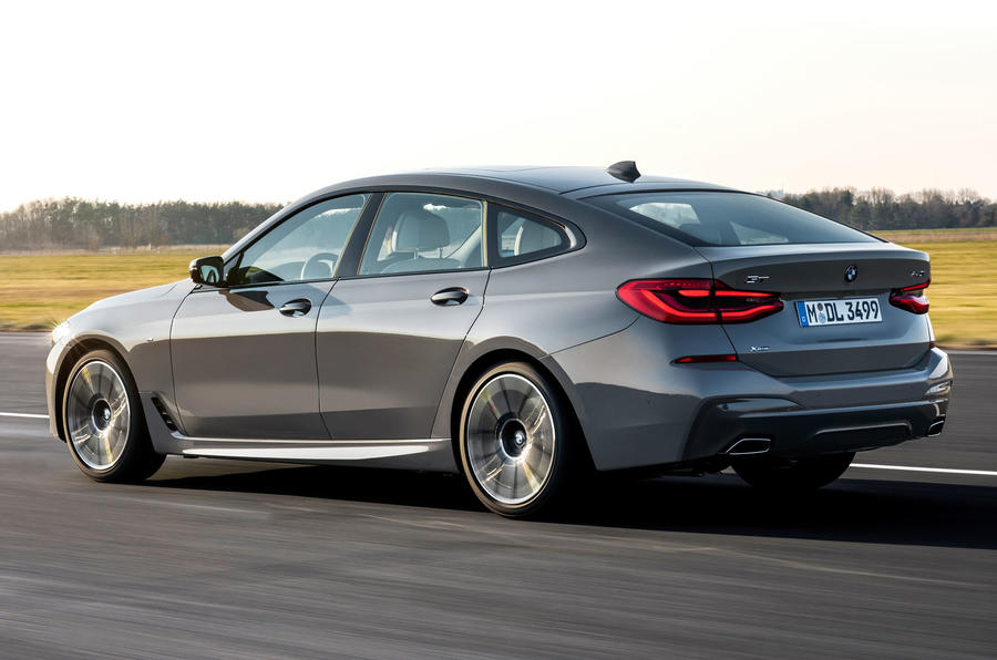 BMW 6 Series GT facelift- rear