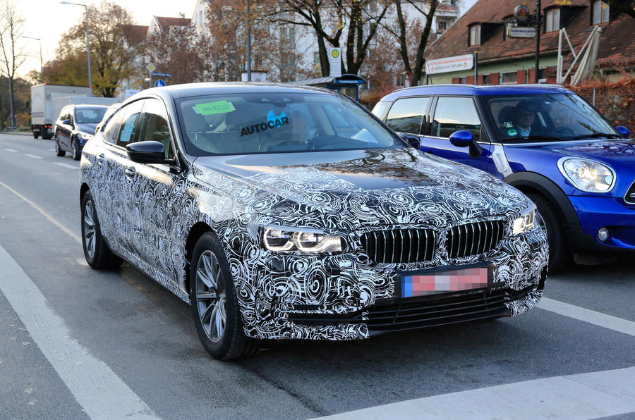 2017 BMW 6 Series GT - 5 Series GT replacement spotted