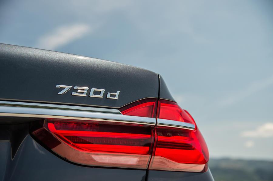 BMW 730d badging