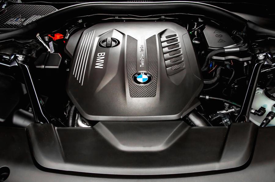 3.0-litre BMW 730d diesel engine