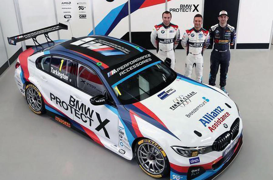 British Touring Car Championship 2019 BMW 3 Series