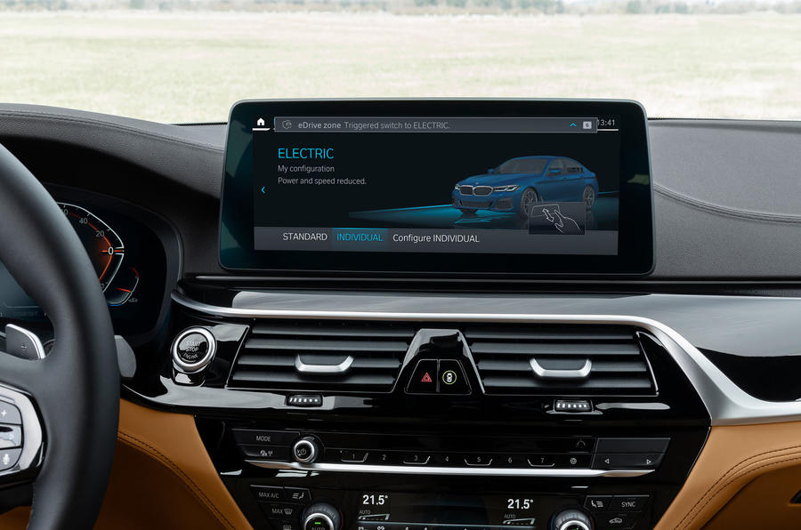 BMW driving modes