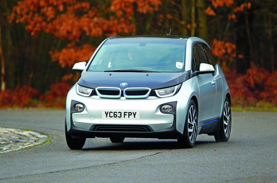 BMW i3 range extender - front