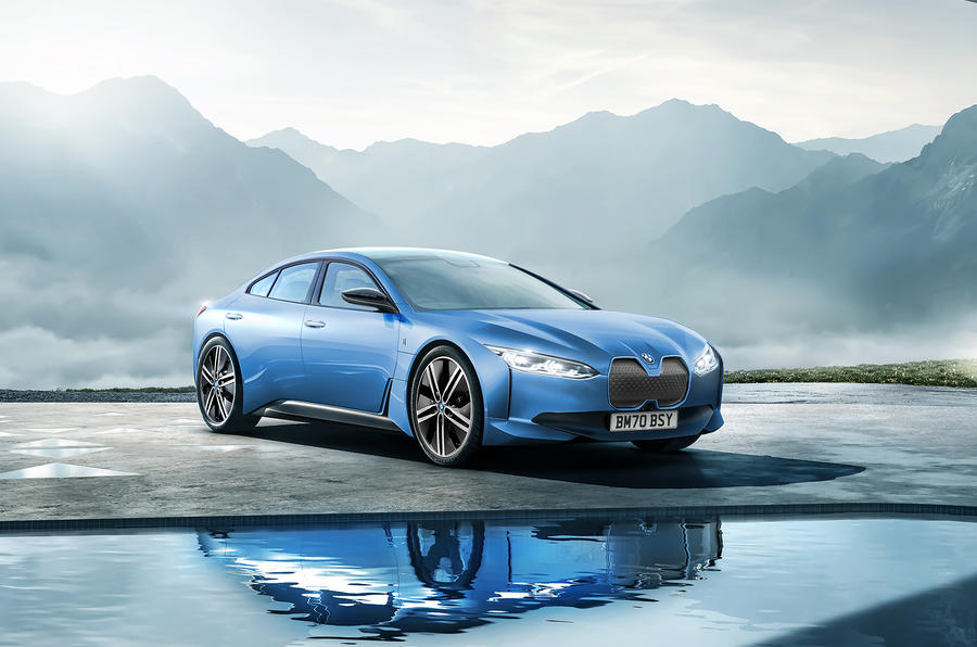 New BMW i4: Tesla-rivalling coupe seen winter testing ...