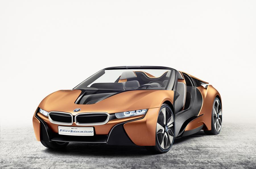 BMW i8 roadster confirmed for 2018