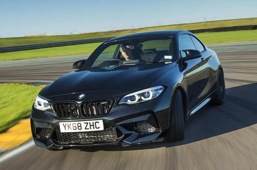 BMW M2 Competition on track
