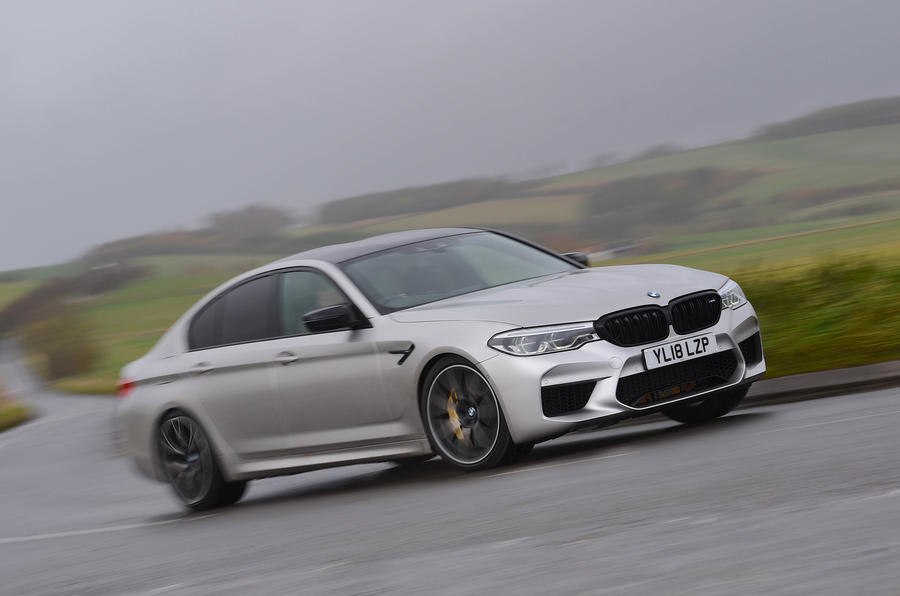 BMW M5 Competition - top ten super saloons