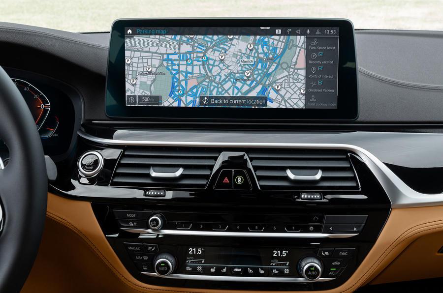 BMW Maps fullscreen