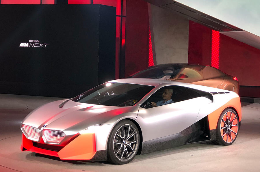 600-HP BMW M NEXT Revealed As The New i8