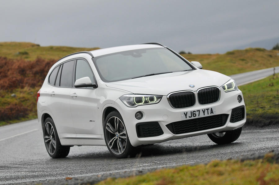 BMW X1 nearly-new buying guide - tracking front
