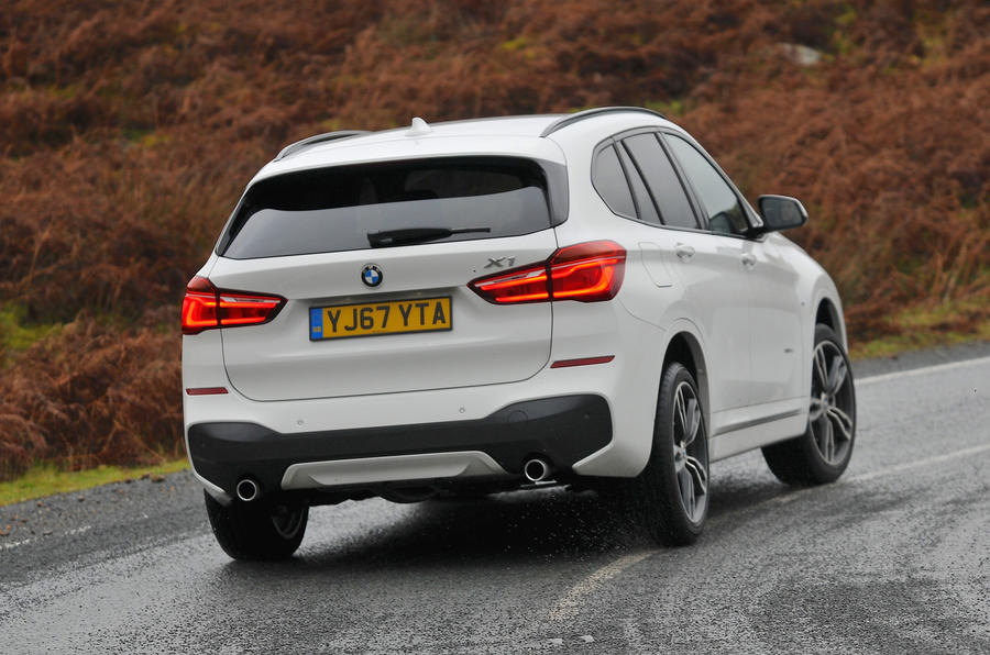 BMW X1 nearly-new buying guide - cornering rear