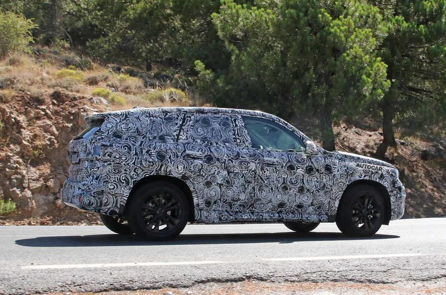 BMW X1 2022 spyshots side rear